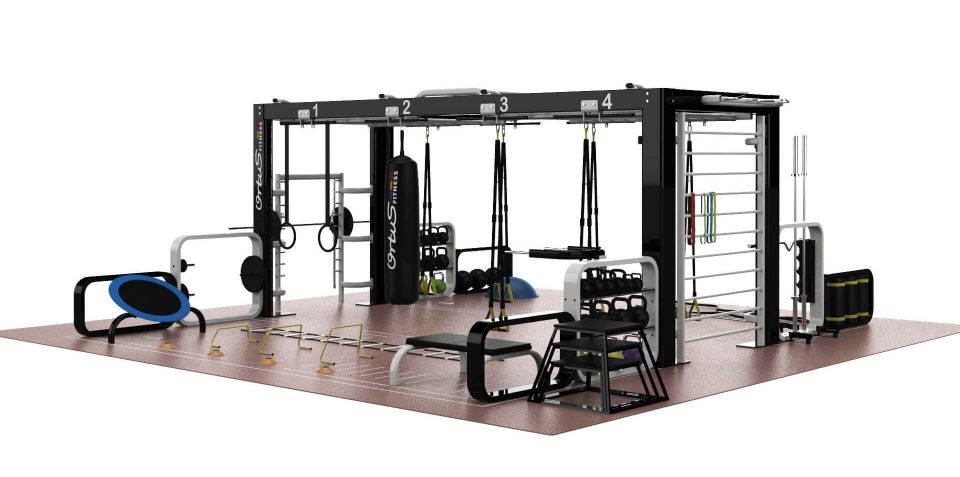 jaula configurable entrenamientos ortus fitness